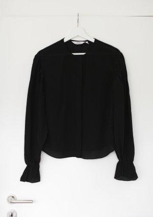 & other stories Silk Blouse black silk