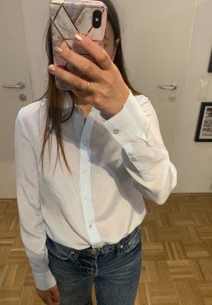 Zara Jedwabna bluzka jasnoniebieski