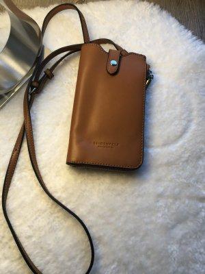 Seidenfelt Manufaktur Carcasa para teléfono móvil marrón