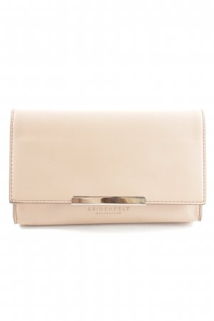 Seidenfelt Manufaktur Clutch creme Business-Look