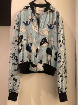 Iceberg Blouse Jacket white silk