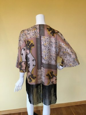 Monsoon Kimono Blouse multicolored silk