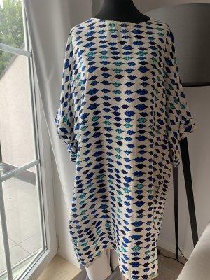 Tunic Dress white-blue