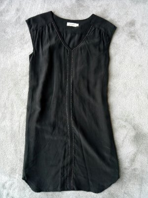 Amphora Cocktail Dress black silk