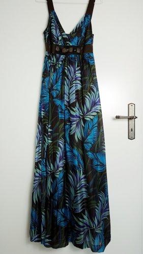 Ana Alcazar Robe longue multicolore soie