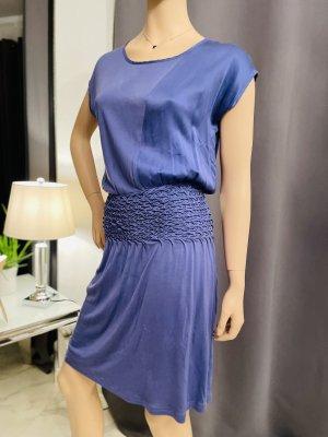 Boss Orange Summer Dress cornflower blue-steel blue