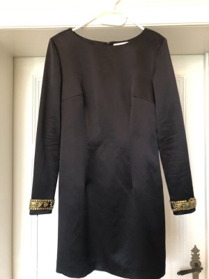 Matthew williamson Robe de cocktail noir soie