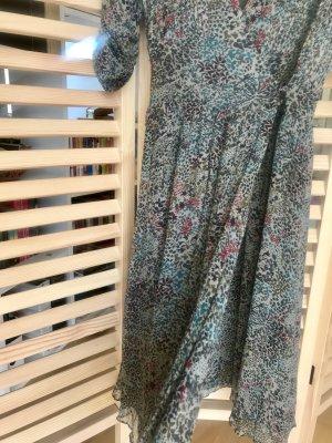 Comptoir des Cotonniers Robe portefeuille multicolore