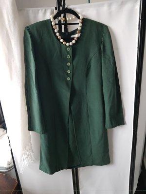 Vittoria Verani Gabardina tipo vestido verde bosque