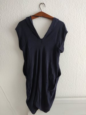 Seidenkleid in navy von All Saints