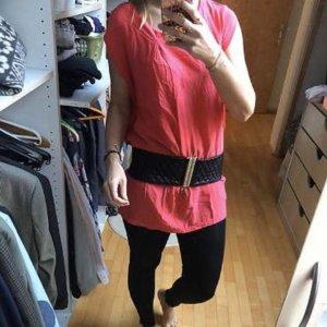 Seidenkleid longshirt Kirschrot aus Boutique