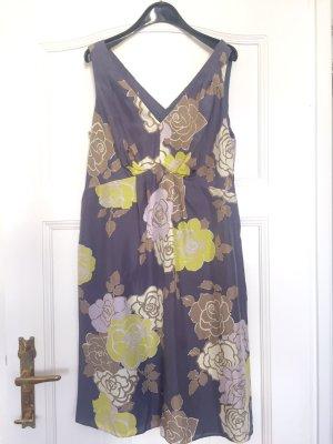 Seidenkleid mit Blumen  BODEN Limited Edition Gr. 44 - Top Zustand