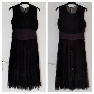 Givenchy Vestido de noche negro Seda