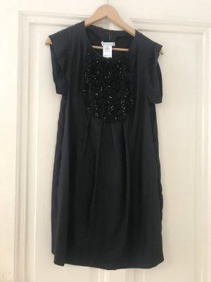 Seidenkleid schwarz