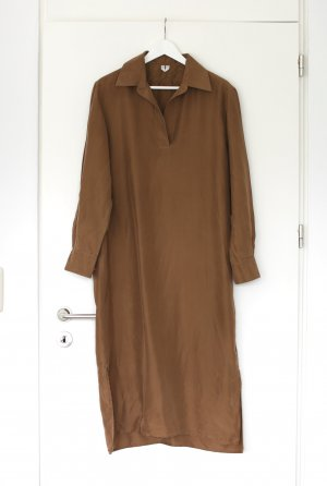 ARKET Longsleeve Dress brown-light brown