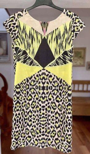 Airfield Summer Dress multicolored silk