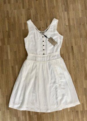 Burberry Letnia sukienka biały-w kolorze białej wełny