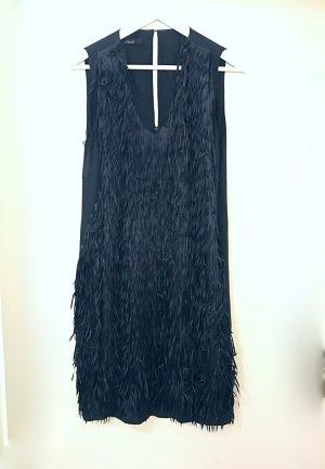 Laurèl Cocktail Dress dark blue-blue silk