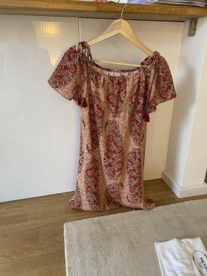 Madewell Sukienka bez ramiączek czerwony