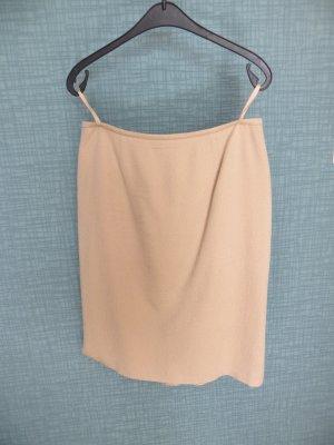 ae elegance Falda de tubo beige claro Lana