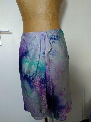 Didier Parakian Silk Skirt multicolored