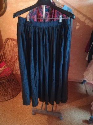 Jedwabna spódnica czarny