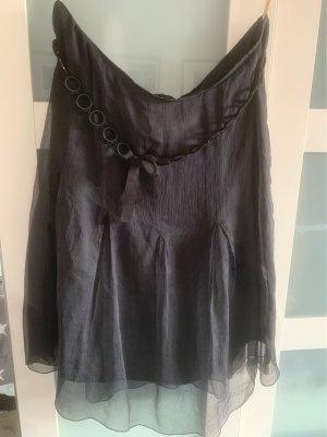 St. emile Jedwabna spódnica czarny