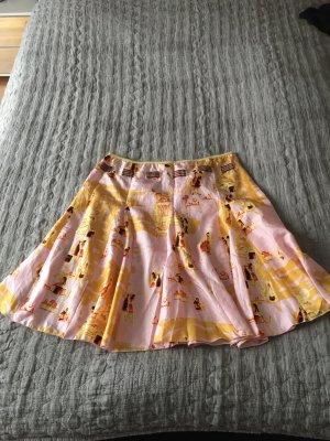 Guess Silk Skirt multicolored silk