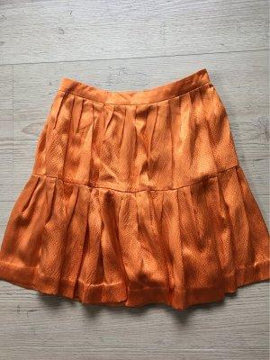 3.1 Phillip Lim Gonna a pieghe arancione-arancione scuro