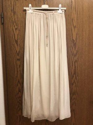 Souvenir Silk Skirt cream silk