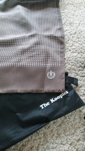 The Kooples Écharpe en soie multicolore