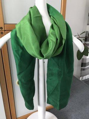 Seidenschal, grün