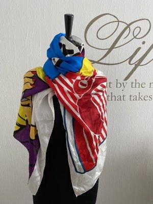 Plomo o plata Panno di seta multicolore