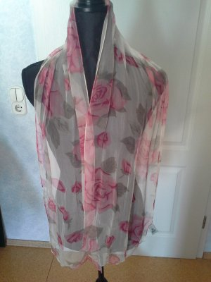 Silk Scarf multicolored silk