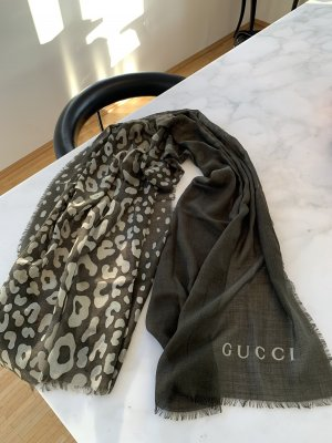 Gucci Zijden sjaal veelkleurig Zijde