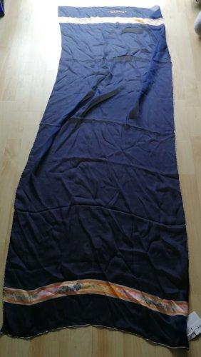 Leonard Paris Zijden sjaal donkerblauw