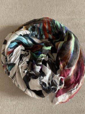 Mala Alisha Bufanda de seda multicolor