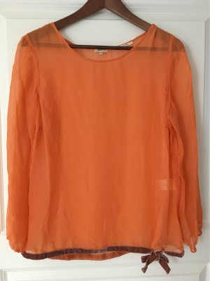 Seidenshirt Bellerose orange Gr 2