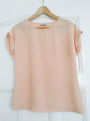 LOX Silk Top pink silk