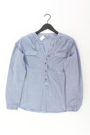 Seidensticker Bluse blau Größe 44