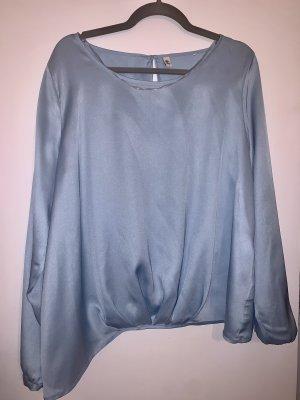 Seidensticker Blusa brillante azul celeste