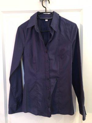 Seidensticker Bluse Gr. 36 - dunkelblau - wie neu, kaum getragen