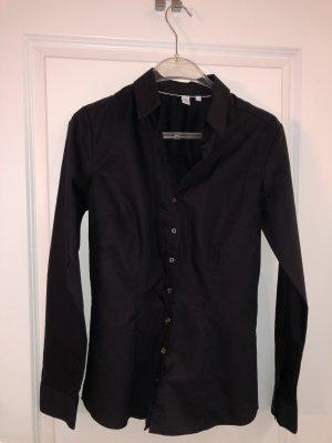 Seidensticker Bluse Gr. 36 - schwarz - kaum getragen, wie neu!