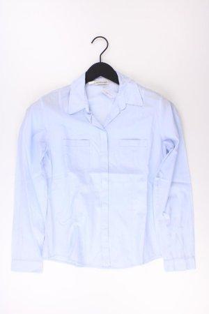 Seidensticker Bluse Größe 36 blau aus Baumwolle