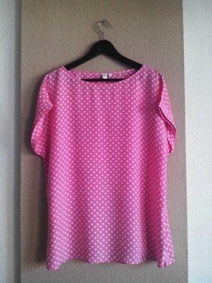 Seidensticker Bluse in Polka Dot aus 100% Viskose, Größe 42 neu