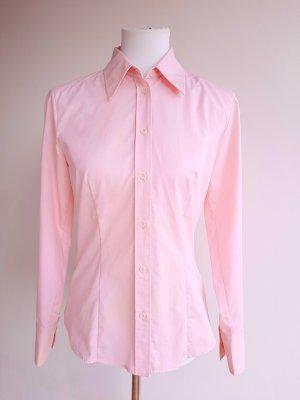 Seidensticker Bluse Rosa Gr. 36 Hemdbluse Rosé