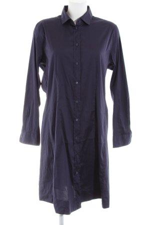 Seidensticker Blusenkleid blau Business-Look