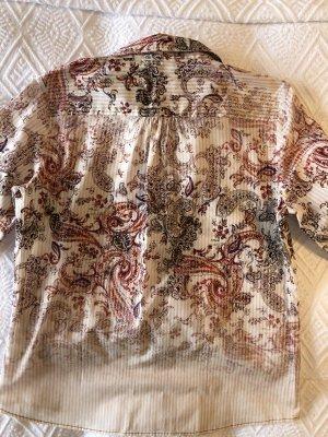 Seidensticker Damenbluse Gr. 38 Baumwolle Langarm Bluse Hemd Hemdbluse