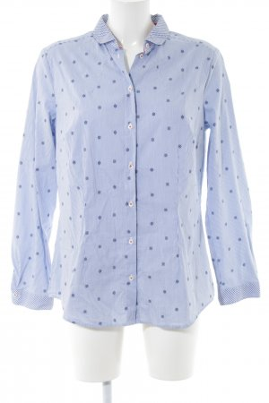 Seidensticker Hemd-Bluse Allover-Druck Casual-Look