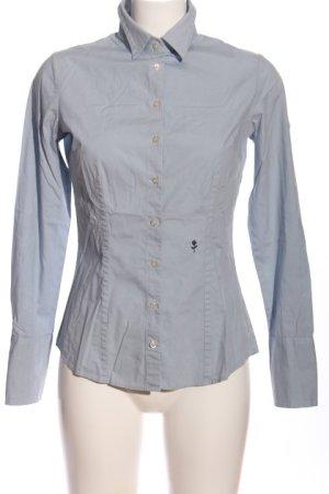 Seidensticker Hemd-Bluse blau Business-Look